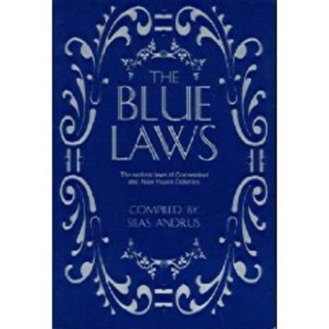 Blue Laws are Enforced