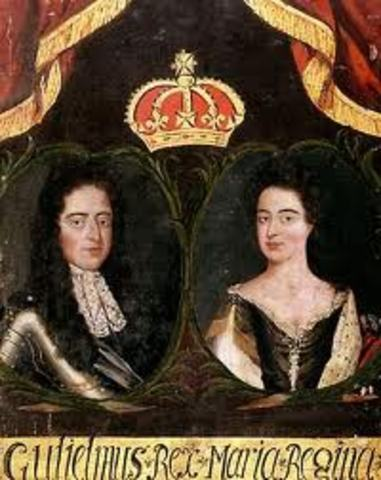 Queen Mary and Kin William are crowned