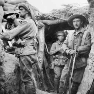 Australia in WW1 timeline