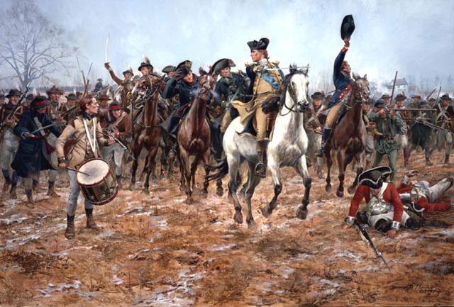 Battle at Princeton