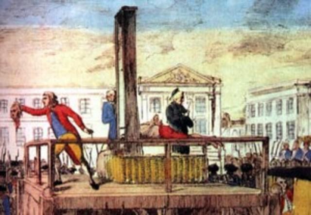 King Louis XVI Dies