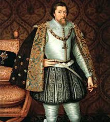 King James I becomes the King