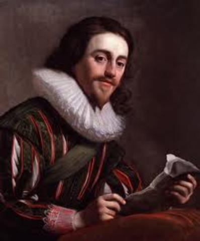 Charles I Becomes King
