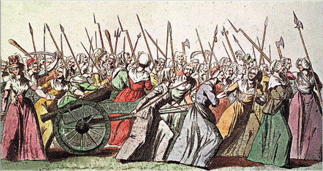Women Storm the Versailles