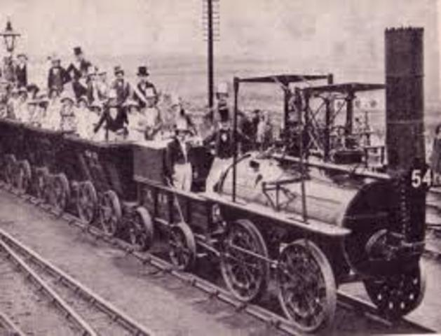 The Liverpool and Manchester Railway begins first regular commercial rail service.