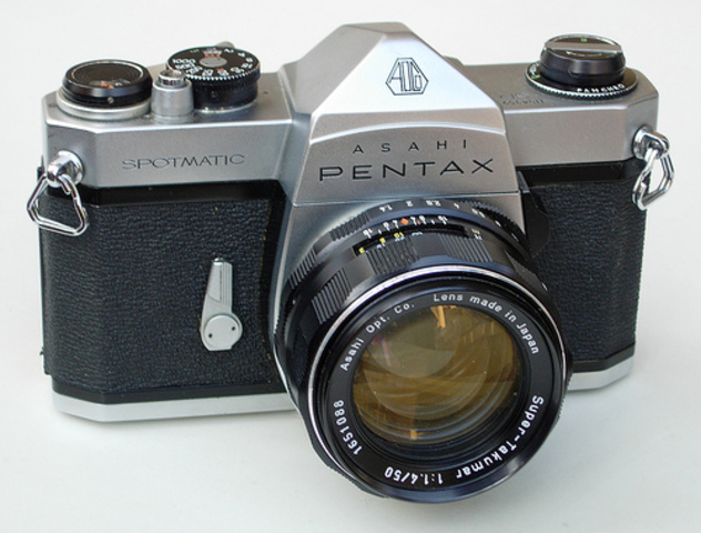 Le Pentax Spotmatic