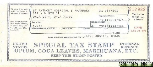 Harrison Tax Act