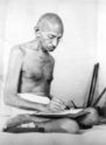 Gandhi wrote in the indian Opinion of his time