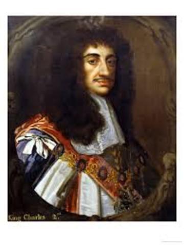 King Charles II Becomes the King of England