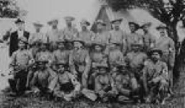 The Boer War* begins.