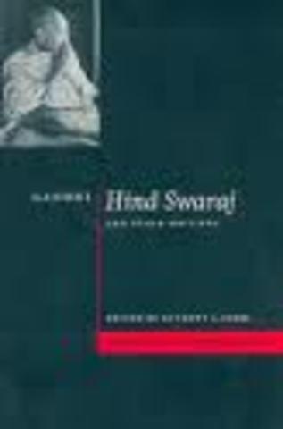 Gandhi writes his first book: