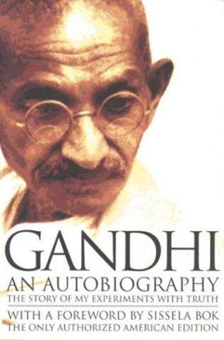 Gandhi writes an autobiography