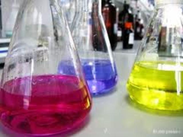 Evolucion de los quimicos
