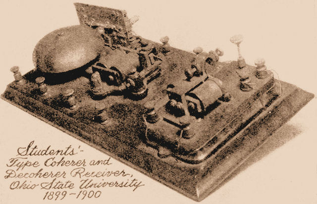 First Wireless Telegraph