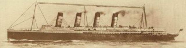 Sinking of Lustitania