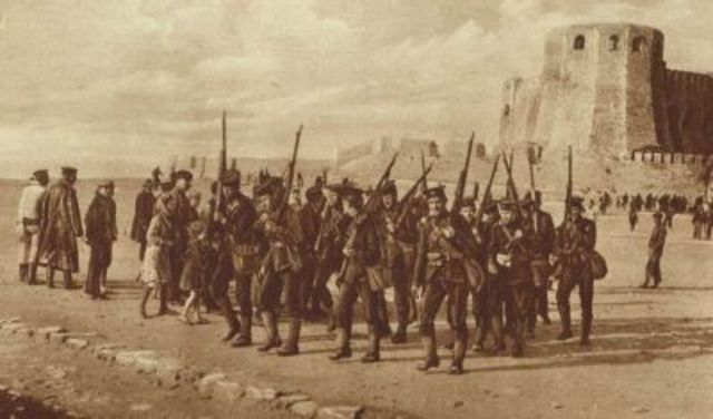 Landind of Gallipoli