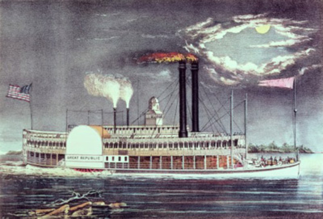 Invention of the steamship