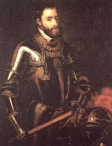 Carlos I rey de España