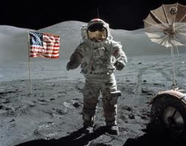 First man on the moon (Apollo 11)