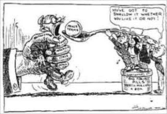 Goal: 8 treaty of Versailles