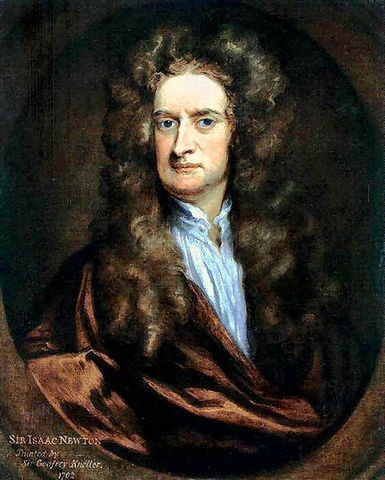 Newton dies