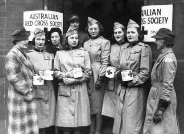 (2) Australian Red Cross was established