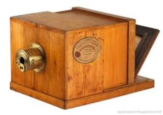 The first patent of the camera