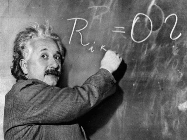 Albert publishes his Theory of Relativity.