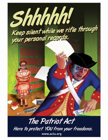 Goal 12: Patriot Act