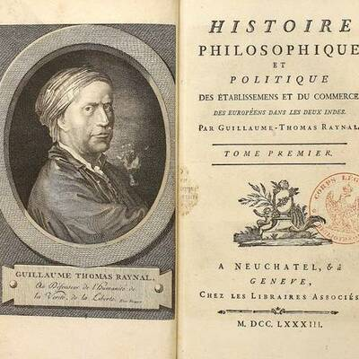 L'Abbé Raynal, timeline des différentes éditions de l'Histoire des deux Indes par Alison REY