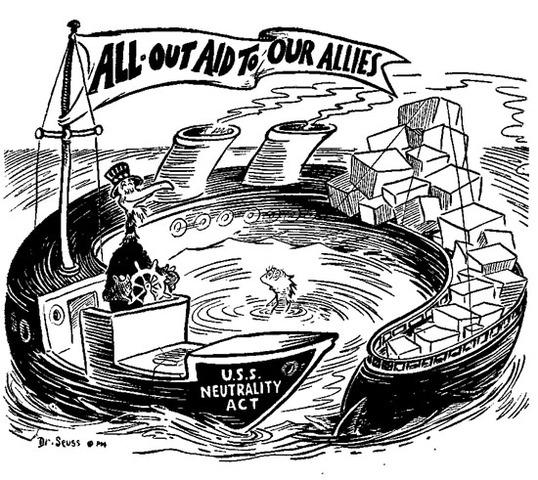 World War II - Neutrality Acts