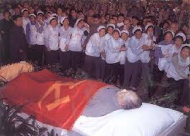 The Death of Mao Zedong