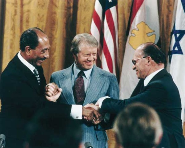 The United States since the Vietmam War - Camp David Accords