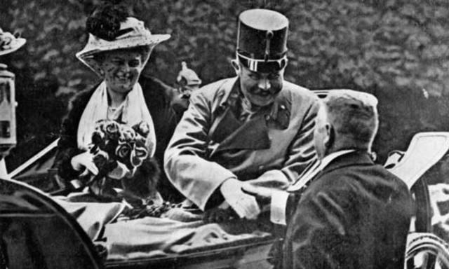 Francis Ferdinand assassinated