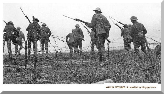 World War 1 began