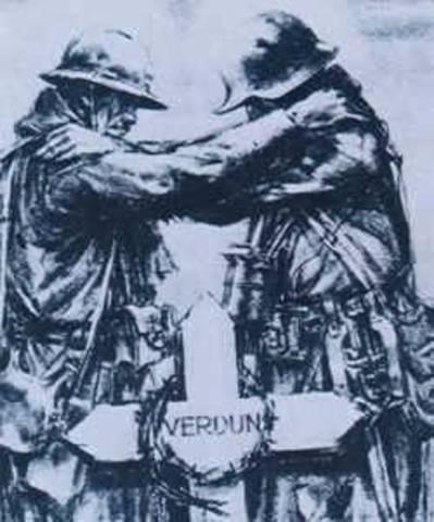 Battle of Verdun Began