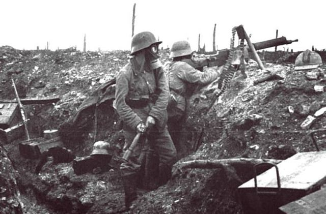Second line of trenches