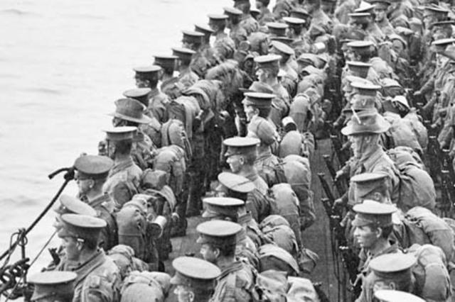 British soilders evacuate!