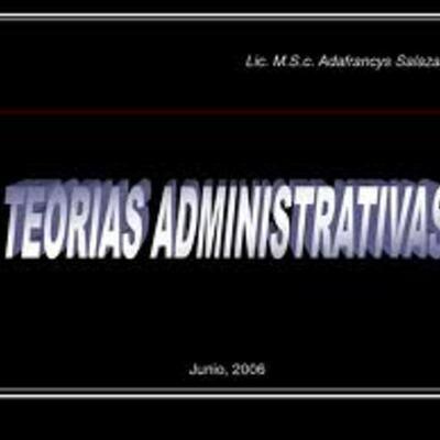 teorias administrativas timeline