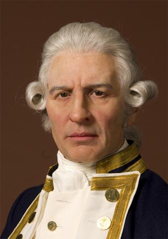 Captain Cook sets sail