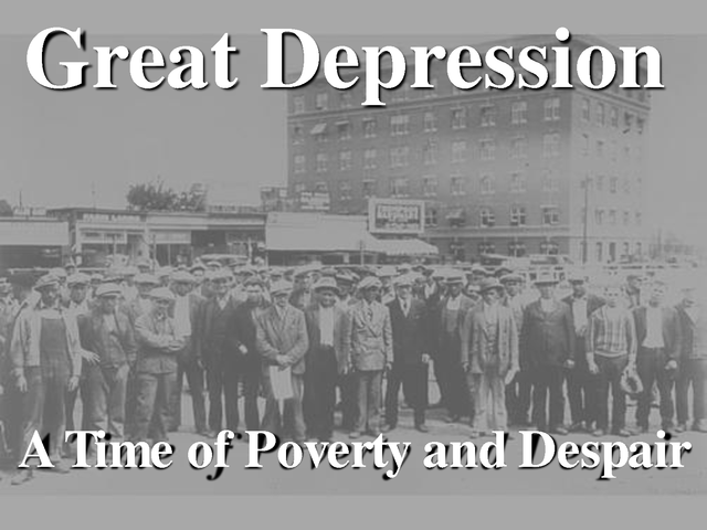 Goal 9: The Great Depression