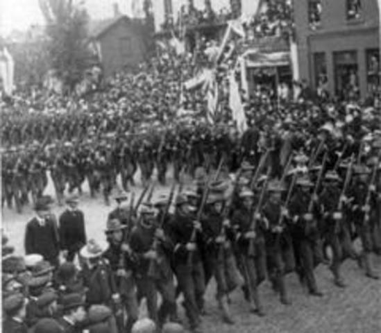 Spanish American War ends