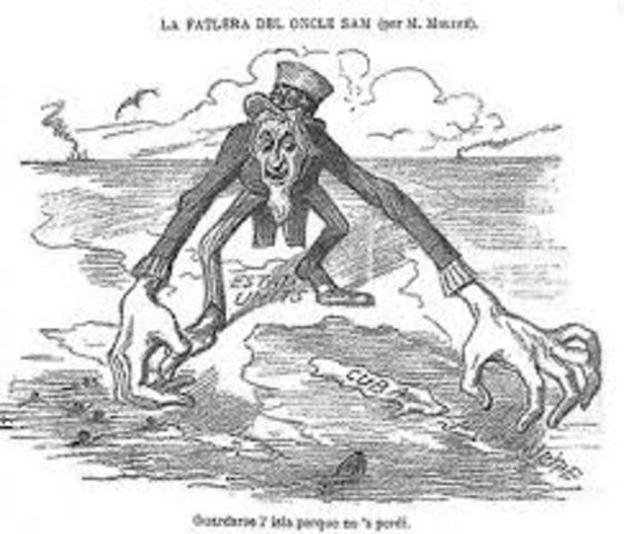 Spanish American WAr Began