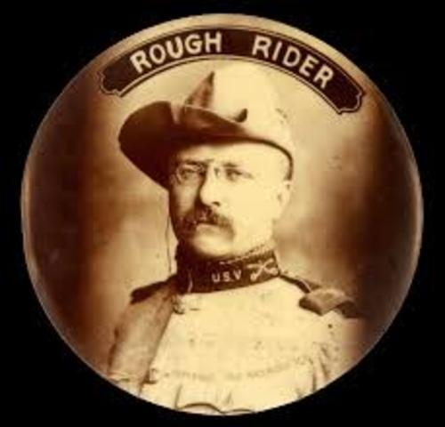 Teddy Roosblet & Rough Riders are formed