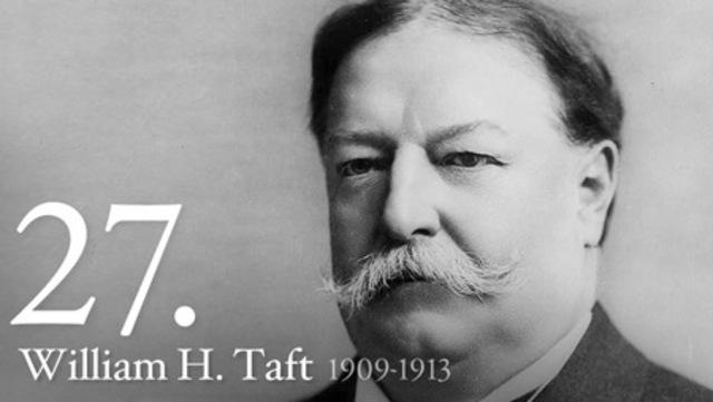 William Howard Taft President