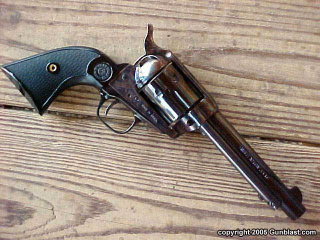 Invention of the revolver.