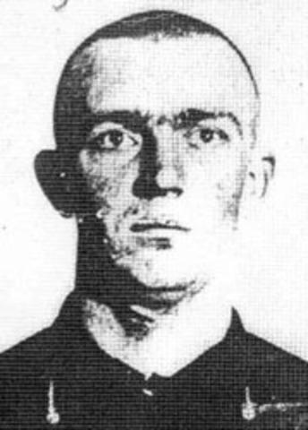 Arrest of Suspect 1- William Mansfeild