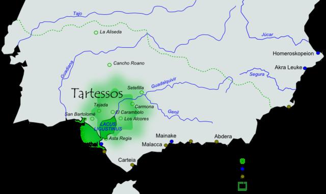 Expansion de los Tartesios