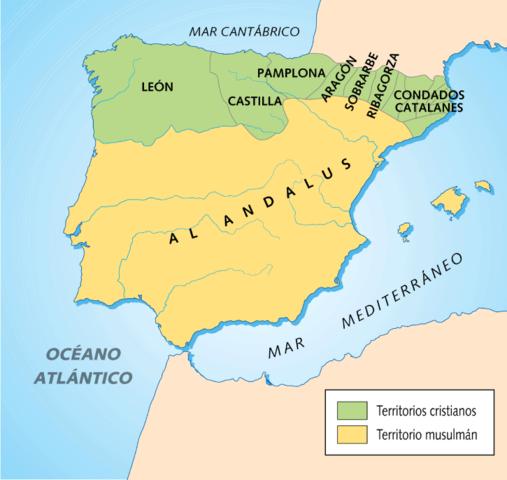 Penetración musulmana y formación de los reinos visigodos