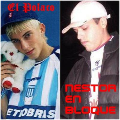 discos de El Polaco y Nestor en Bloque timeline